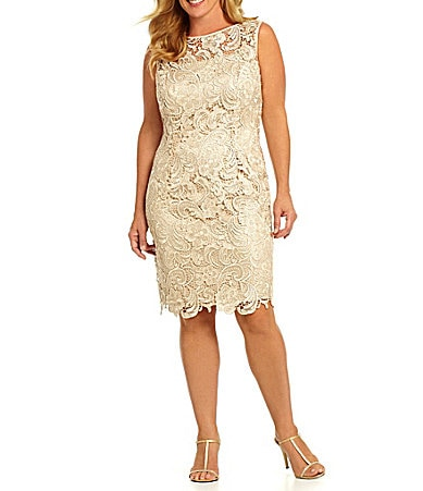 Adrianna Papell Woman Floral Lace Dress
