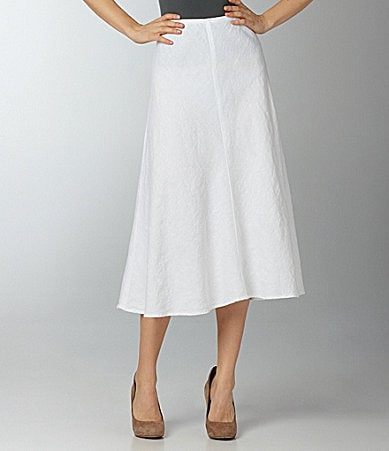 Eileen Fisher Bias Linen Skirt