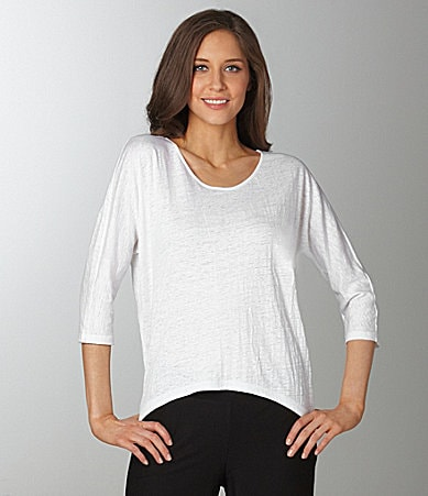 Eileen Fisher Rounded Hem Top