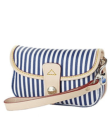 Dooney & Bourke Small Leather Flap Wristlet