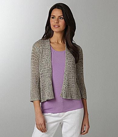 Eileen Fisher Woman Short Straight Cardigan