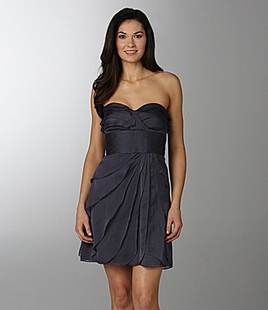 Adrianna Papell Strapless Dress