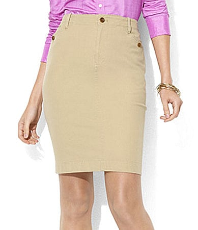 Lauren by Ralph Lauren Aria Pencil Skirt