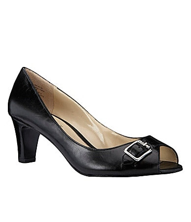 Lauren Ralph Lauren Damaris Peep-Toe Pumps