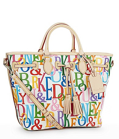 Dooney & Bourke Retro East-West Tassel Shopper