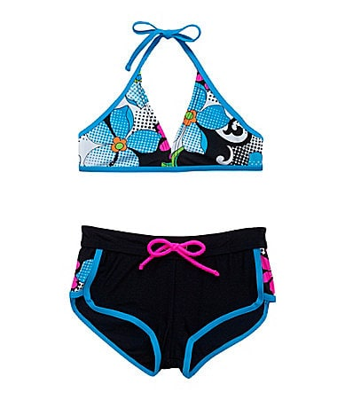 Gossip Girl 7-16 Daisy Bikini & Shorts 2-Piece Swimsuit Set