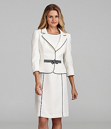 Tahari by ASL Jacket Dress