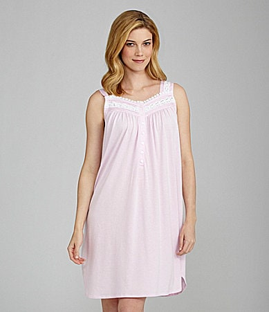 Eileen West Marina Mornings Short Nightgown