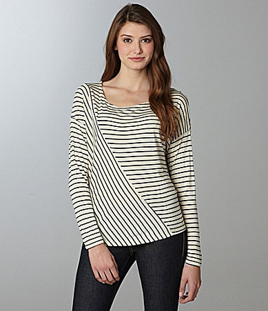 ING Open-Back Long-Sleeve Top
