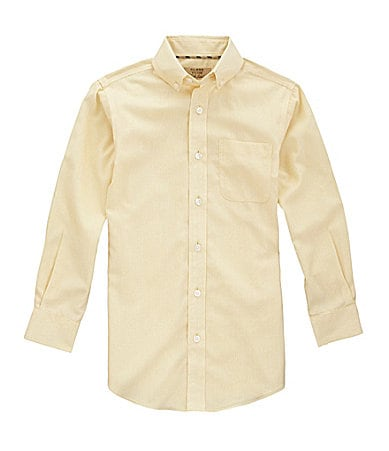 Class Club Gold Label 8-20 Checked Print Sportshirt