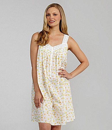 Eileen West Sweet On You Short Sleeveless Nightgown