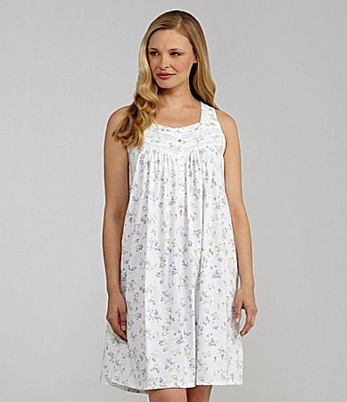 Eileen West Flowering Arbor Short Nightgown