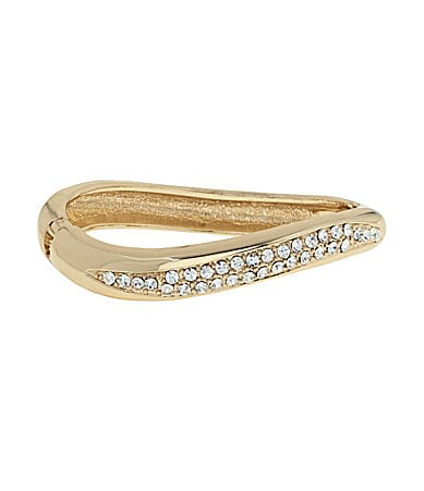Dillard�s Boxed Collection Wave Hinge Bracelet