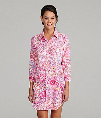 Lauren Ralph Lauren Eden His Shirt Sleepshirt
