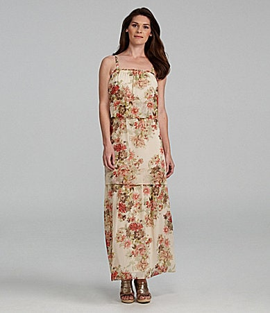Jessica Howard Tiered Maxidress