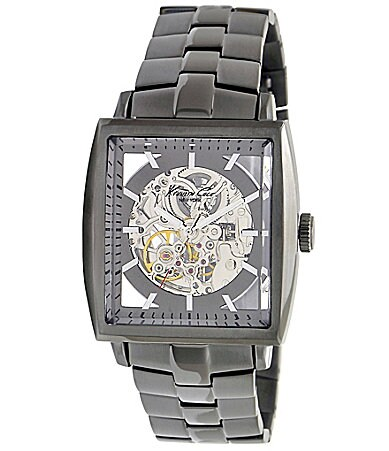 Kenneth Cole New York Gunmetal Rectangular Men�s Watch