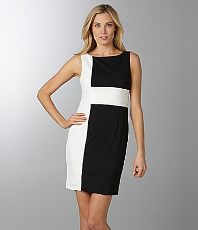 Adrianna Papell Colorblock Dress