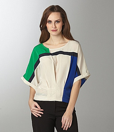 Willow & Clay Colorblock Top