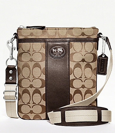 COACH SUTTON SIGNATURE SWINGPACK