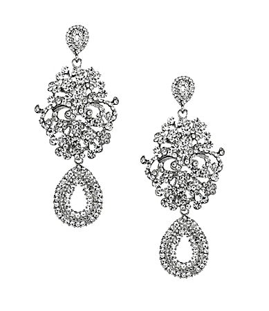 Natasha Accessories Drama Chandelier Earrings