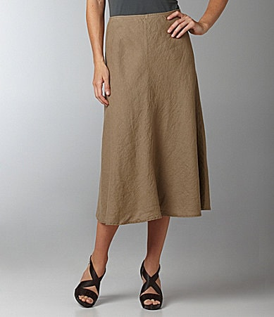 Eileen Fisher Long Linen Skirt