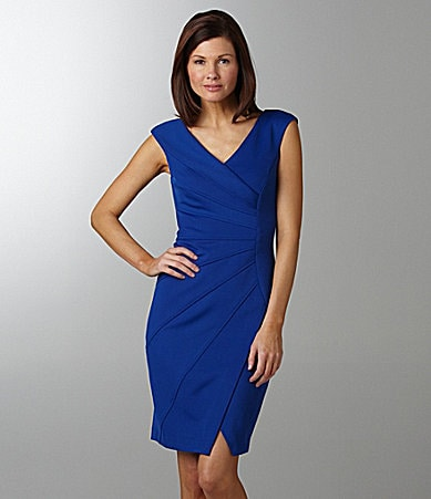 Maggy London V-Neck Dress