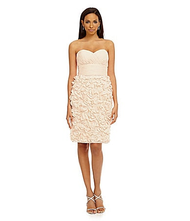 JS Collections Strapless Dress