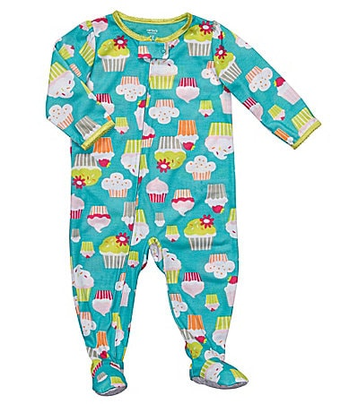 Carter�s Infant Ice Cream Fleece Footed Sleeper