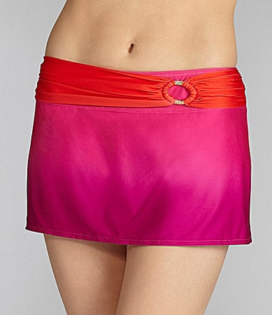 Antonio Melani Swim Ombre Skirted Bottom
