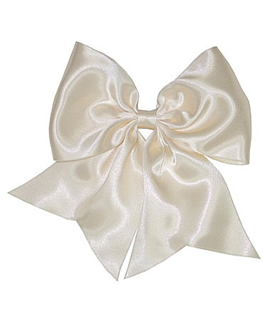 Copper Key Satin Bow with Tails