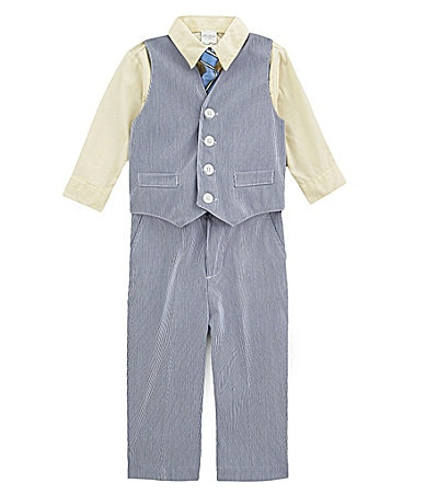 Starting Out Newborn 4-Piece Vest Set