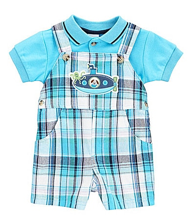 Starting Out Newborn Submarine 2-Piece Shortall Set