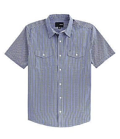 Hurley Solution Checked Buttoned Shirt