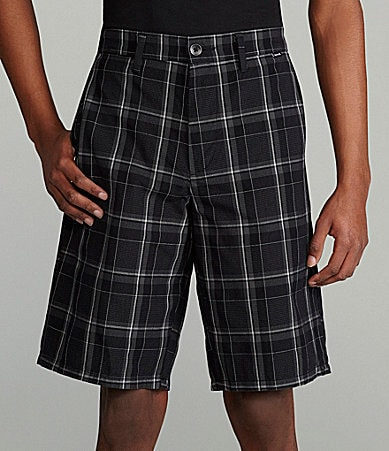Hurley Barney Plaid Shorts