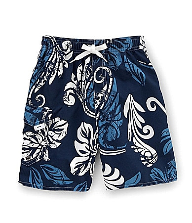 First Wave 2T-7 Floral Swim Trunks