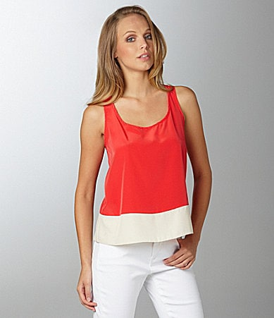 Willow & Clay Colorblock Tank Top