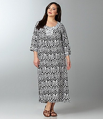 Patio Casuals by Cabernet Woman Lounge Patio Dress