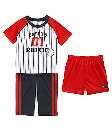 Carter's Infant Daddy Rookie 3-Piece Pajama Set