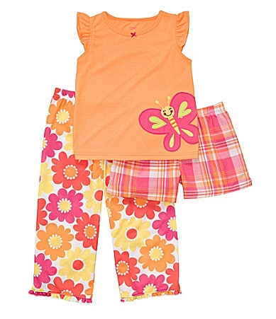 Carter�s Toddler 3-Piece Butterfly Pajama Set