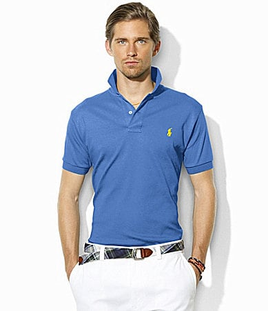Polo Ralph Lauren Classic-Fit Interlock Cotton Polo Shirt