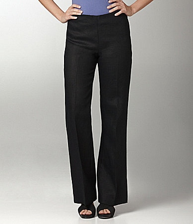 Margaret M Comfort Side-Zip Pants