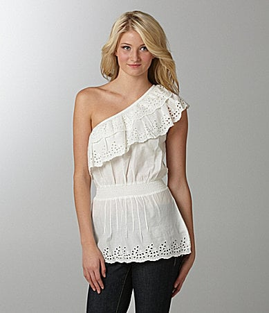 Jessica Simpson Jeanswear Sunlight One-Shoulder Top