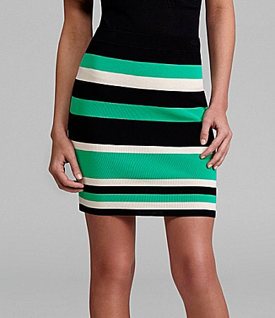 Rampage Colorblock Skirt