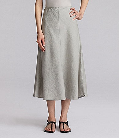 Eileen Fisher Linen Bias Skirt