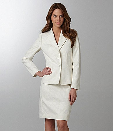 Anne Klein Suit 2-Piece Skirted Suit