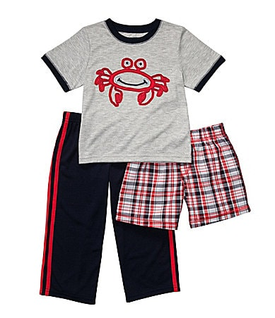 Carter�s Infant 3-Piece Crab Pajama Set