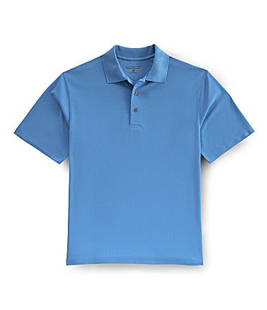 Roundtree & Yorke Performance Textured Polo Shirt