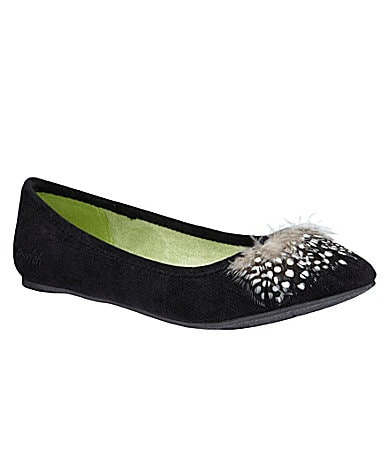 Blowfish Noella Feather Detail Flats
