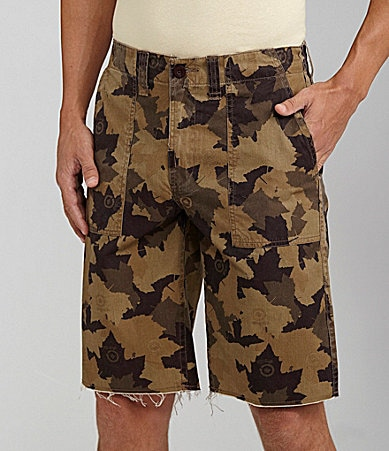 LRG Children of Vision Camo Shorts