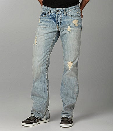 Guess Distressed Falcon Bootcut Jeans